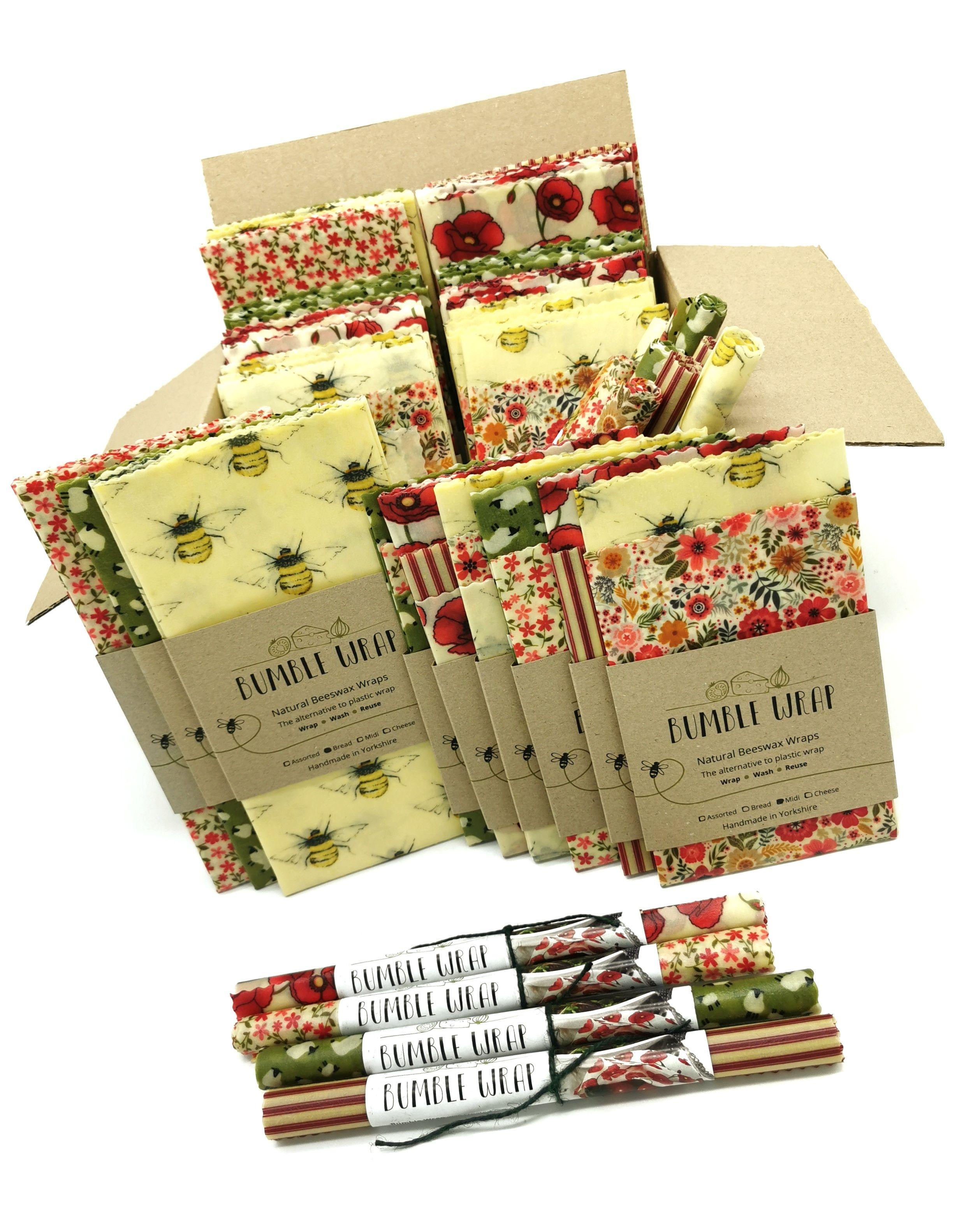 Bumble Wrap Beeswax wrap STARTER box