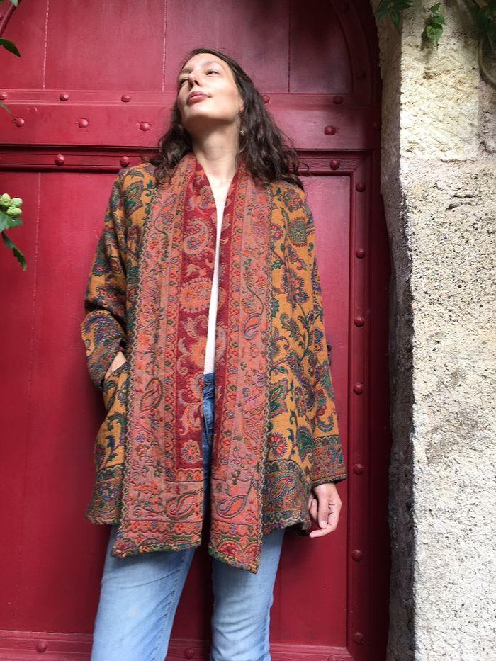 Cosy Tamara Woven – Open Coat