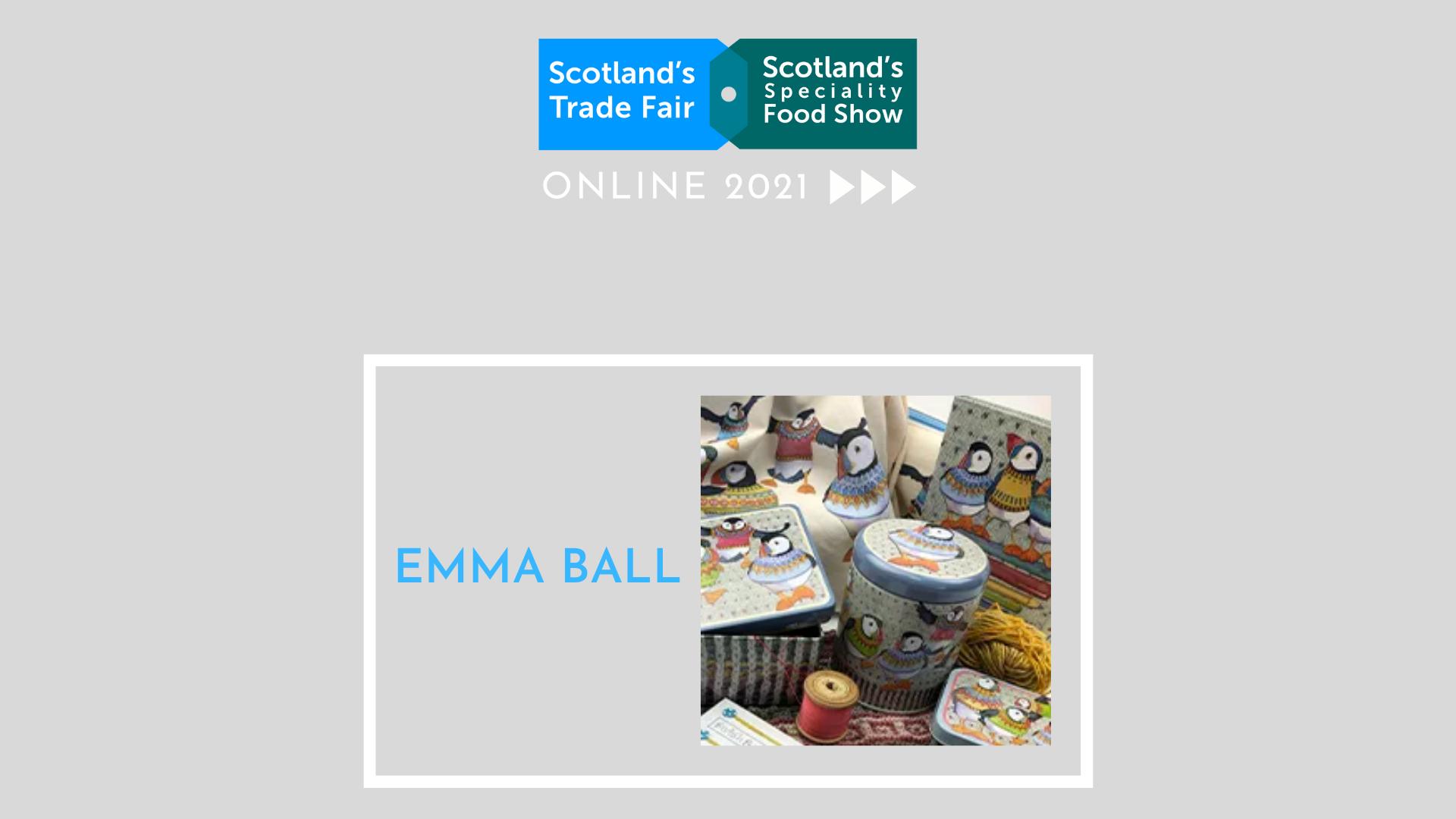 Emma Ball - Live Presentation
