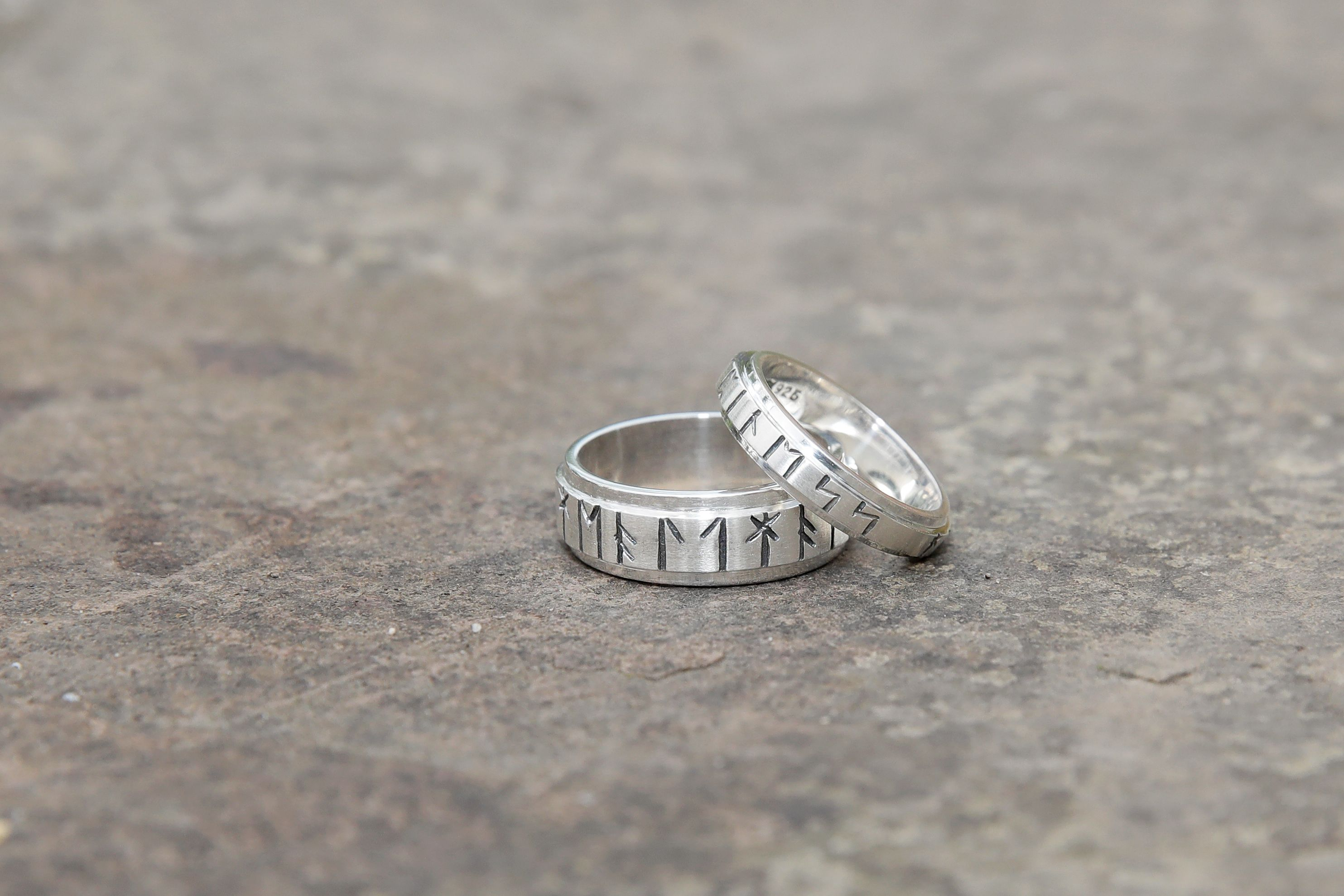 Our handcrafted Runic Rings