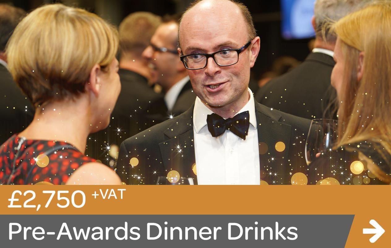 Pre-Awards Dinner Drinks Sponsor