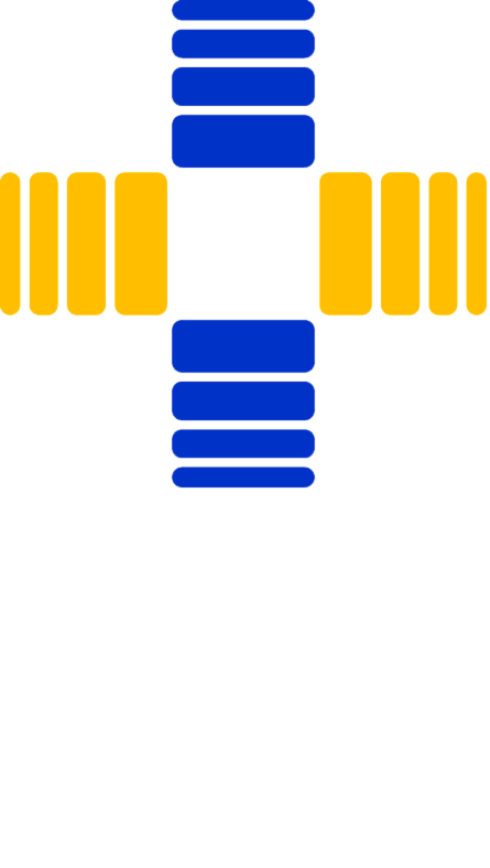 Transparent White Step Logo