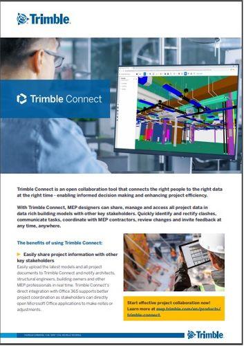 Trimble Connect Datasheet