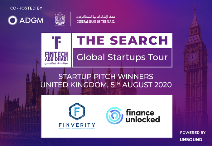 FinTech Abu Dhabi - The Search - UK Winners