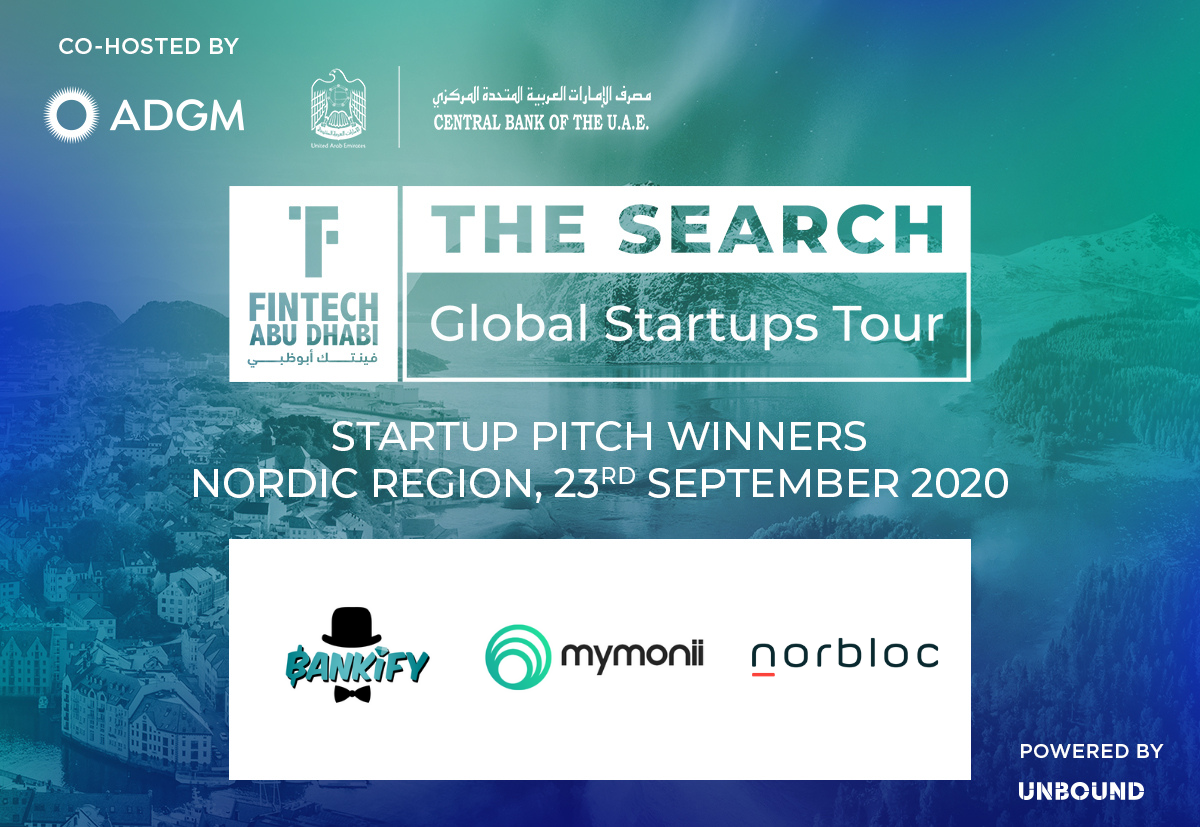 FinTech Abu Dhabi - The Search - Nordic Region - Winners