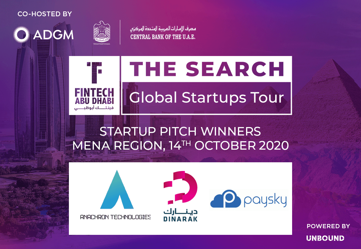 FinTech Abu Dhabi - The Search - MENA Region
