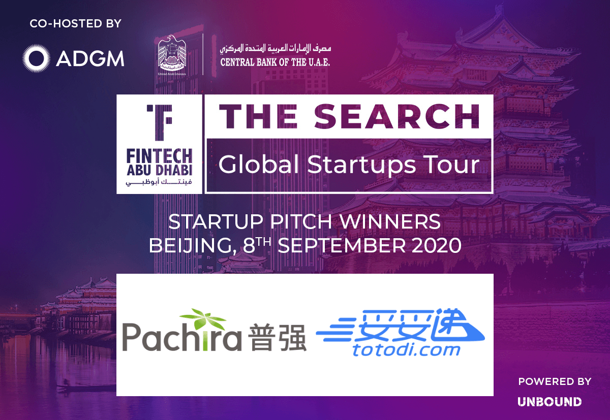 FinTech Abu Dhabi - The Search - Beijing - Winners