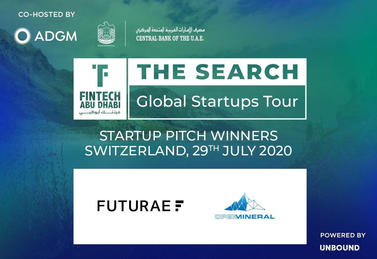 FinTech Abu Dhabi - The Search Winners - Switzerland