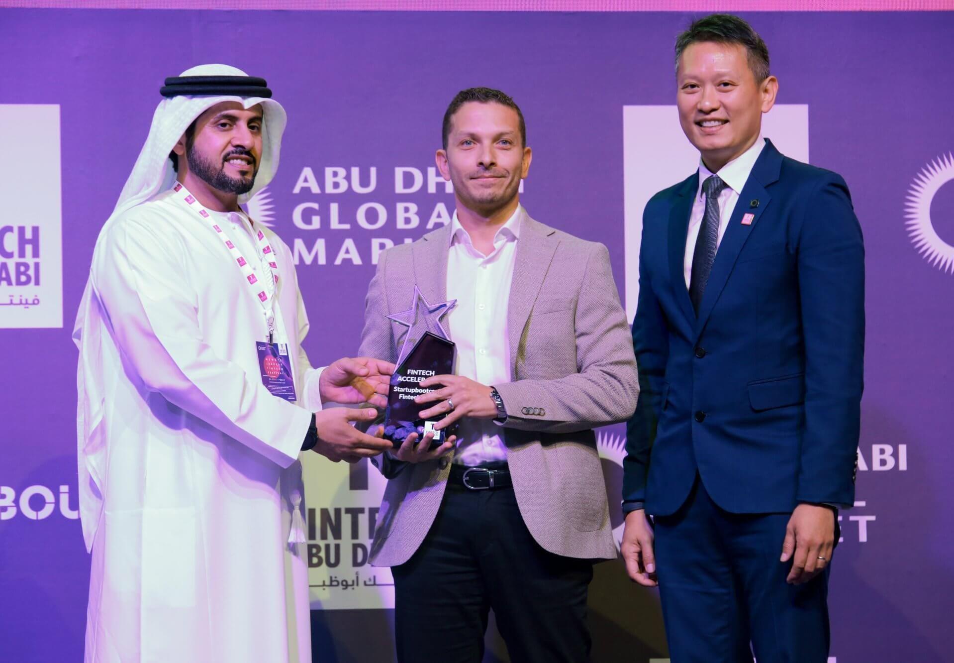 FinTech Abu Dhabi Award Winner Startup Bootcamp 2019
