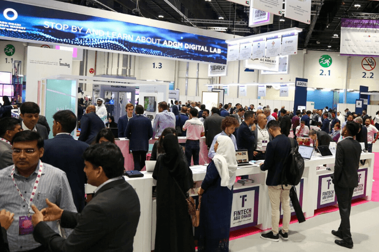 FinTech Abu Dhabi FinTech 100 Exhibition Floor ADNEC