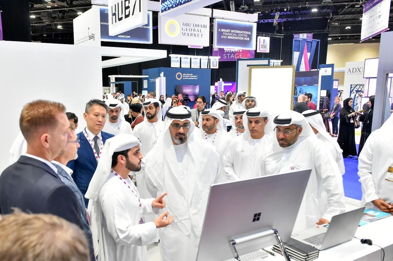 His Highness Sheikh Khalid Bin Mohamed Bin Zayed Al Nahyan opens the 3rd Edition of FinTech Abu Dhabi