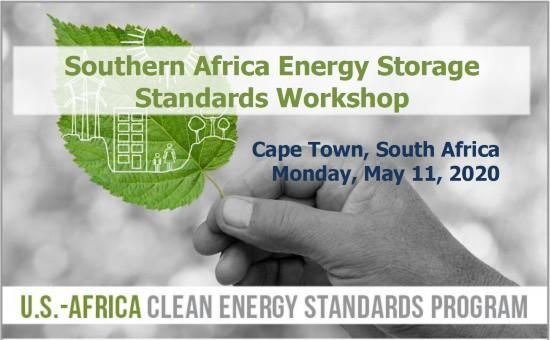 Southern Africa Energy Storage Standards Workshop
