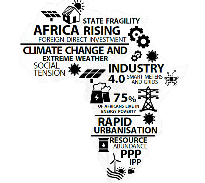 Challenges facing Africa's utilities - GIBS scenario report
