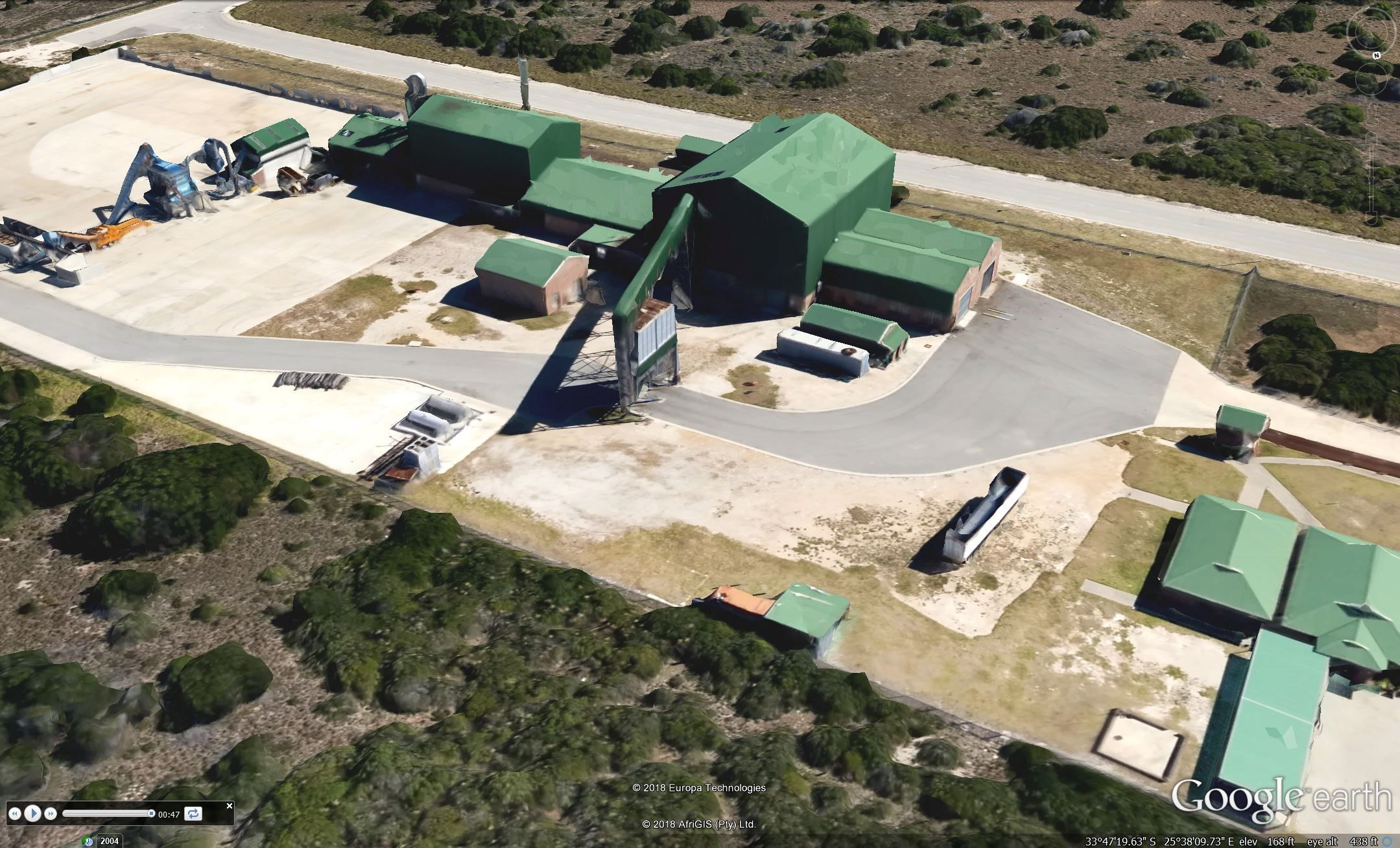 Arial photo of Coega Biomass Centre