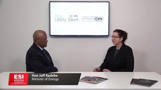 ESI Africa Jeff Radebe interview