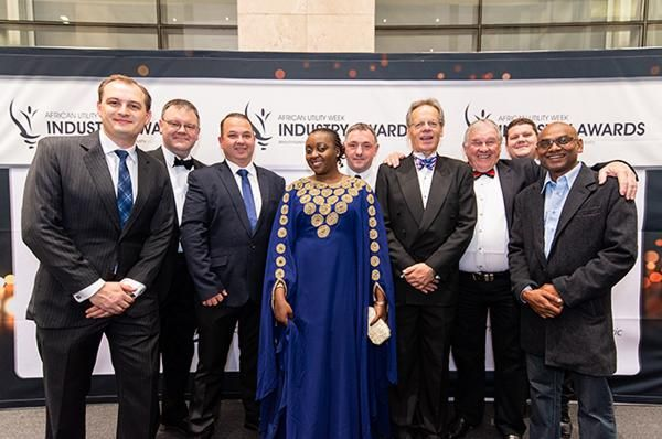 African Utility Week Industry Awards attendees in 2018