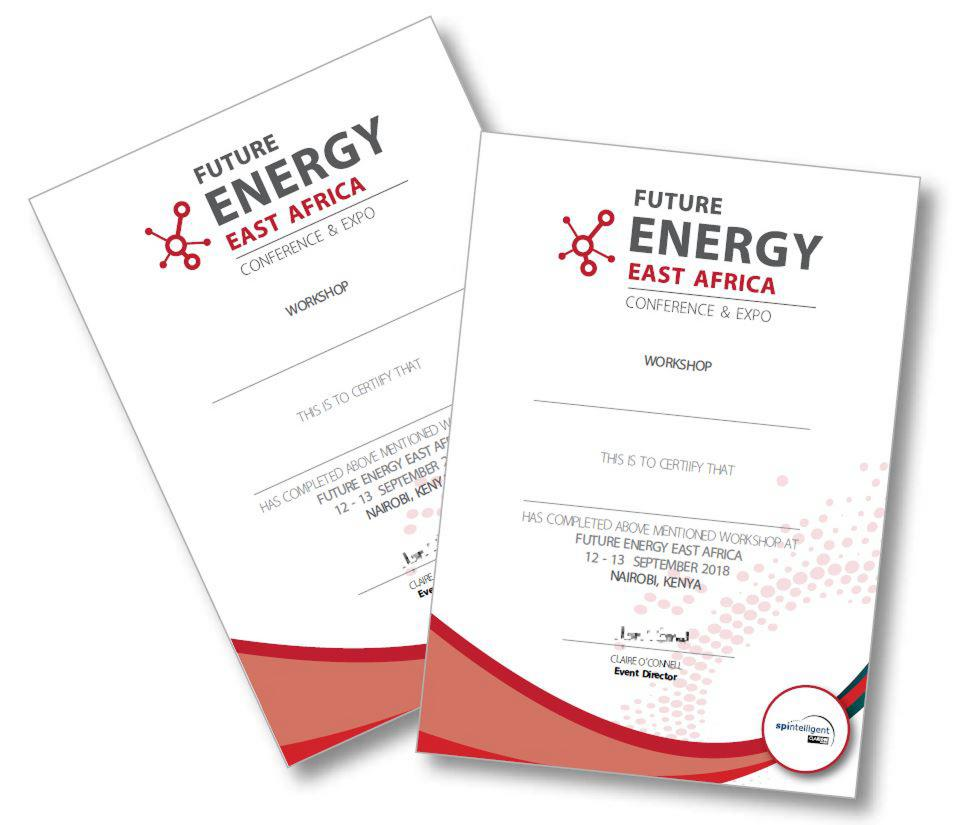 Certified Training at Future Energy East Africa