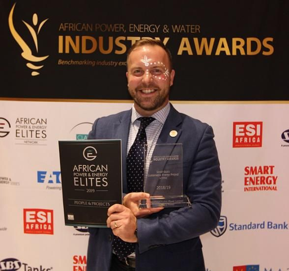 Dan Klinck African Power, Energy & Water Industry Awards