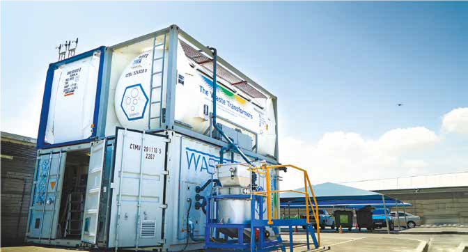 Waste transformed into value on-site