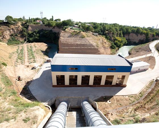 Kadyrinskaya hydropower plant modernisation