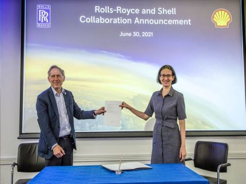 Shell and Rolls-Royce sign MoU to decarbonise aviation industry