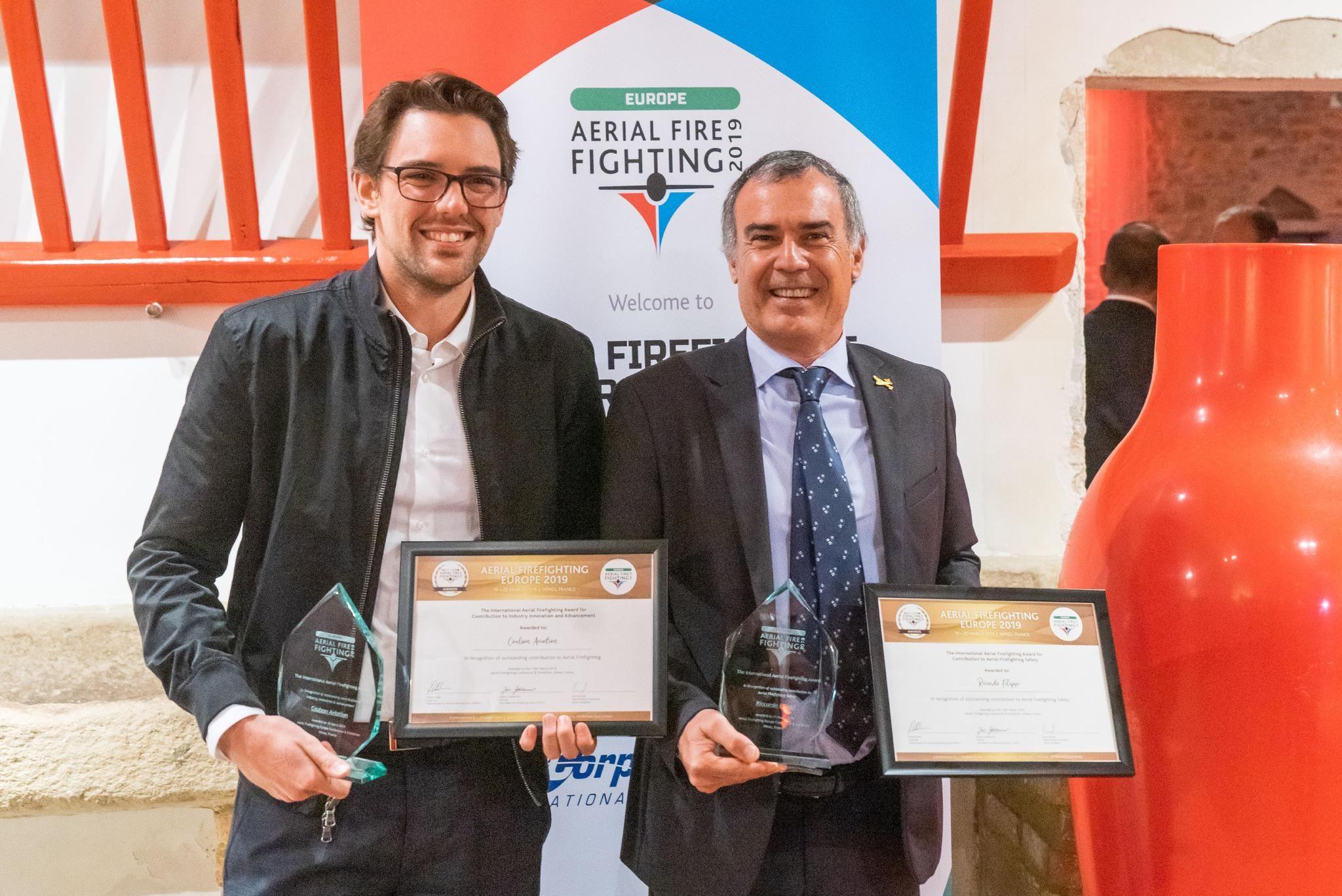 Aerial Firefighting awards winner 2019