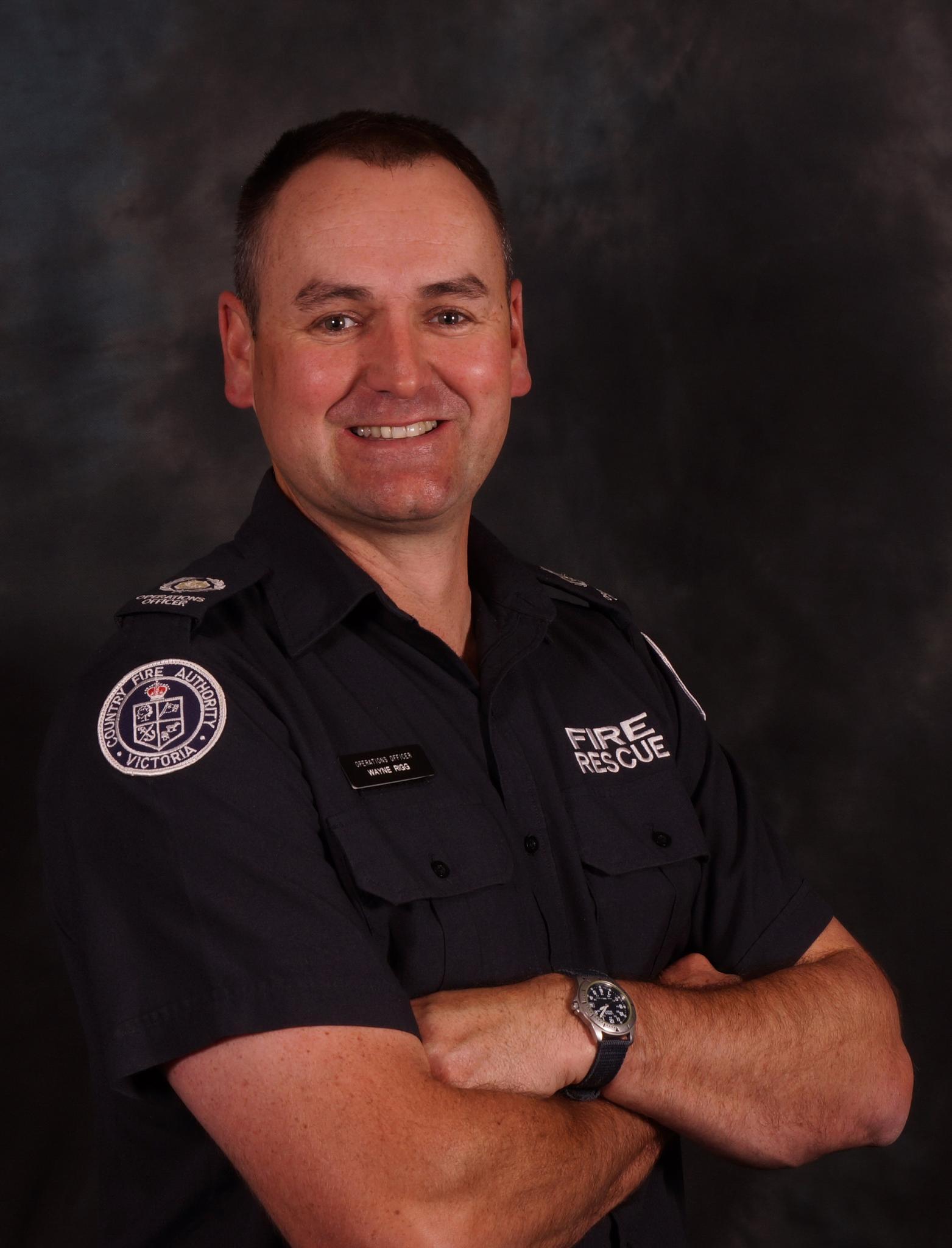 Commander Wayne Rigg