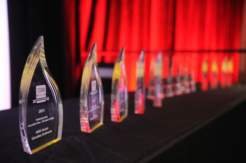 2014 Awards on table