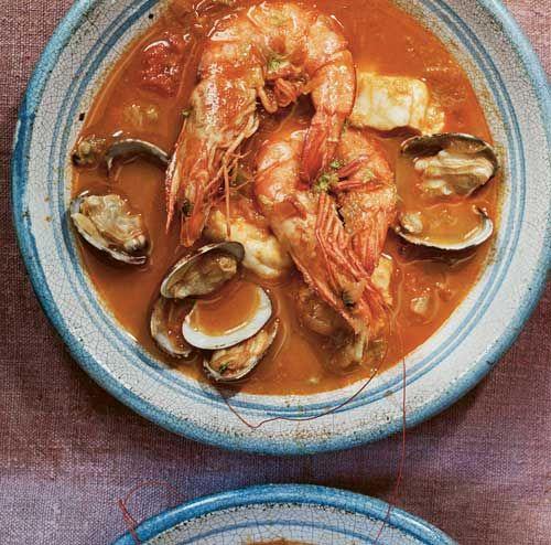 José Pizarro's sopa bullabesa de Almería, from his book Andalusia