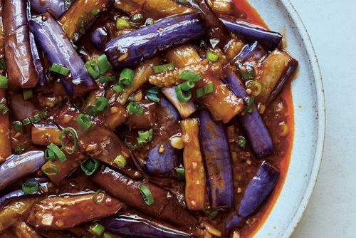Recipe: fish-fragrant aubergines, a Sichuanese vegan classic