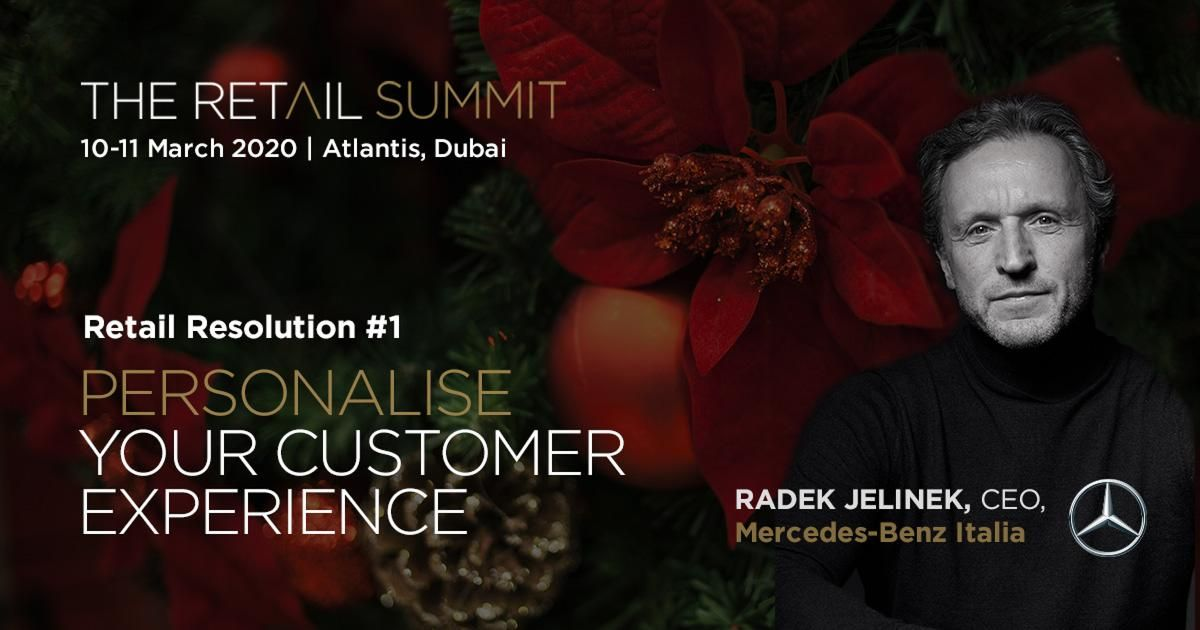 Retail Resolution #1 - Radek Jelinek, CEO, Mercedes-Benz Italia
